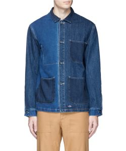 Bleu De Paname | Patchwork Denim Jacket