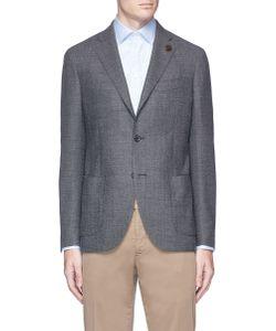 Lardini | Wool Birdseye Soft Blazer
