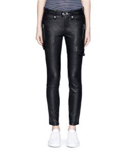 Frame Denim | Moto Lambskin Leather Pants