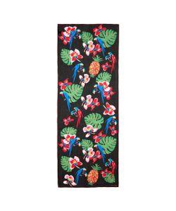Valentino | Tropical Print Silk Chiffon Stole