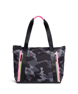 Monreal London | Victory Camouflage And Neon Tote Bag