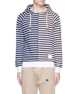 The Editor | Mismatched Stripe Hoodie