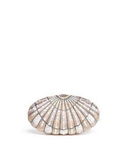 Judith Leiber   Sea Dream Shell Crystal Pavé Minaudière