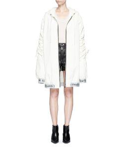 Strateas Carlucci | Oversized Coated Windbreaker Jacket