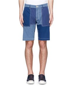Fdmtl | Patchwork Cotton Shorts