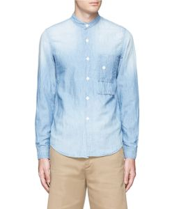 Fdmtl | 3yr Wash Cotton-Linen Chambray Shirt