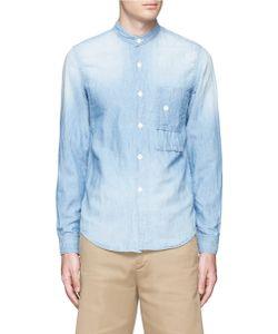 Fdmtl | 3yr Wash Cotton-Linen Chambray Shirt