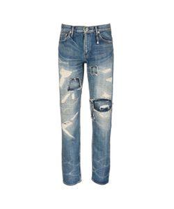 Fdmtl | Heritage Case Study 25 Sashiko Distressed Selvedge Jeans