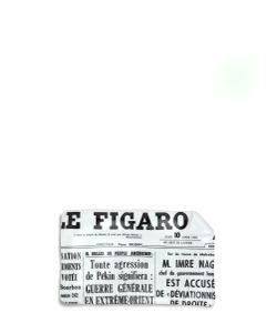 Fornasetti   Giornale Le Figaro Large Sheet Ashtray
