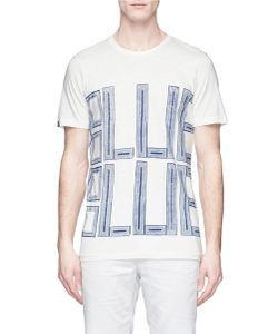Denham | Print Cotton T-Shirt