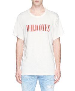 Amiri   Wild Ones Print T-Shirt
