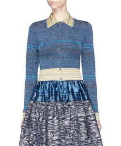 Jourden | Stripe Rib Knit Cardigan