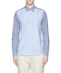 PS Paul Smith | Dice Embroide Cotton Shirt