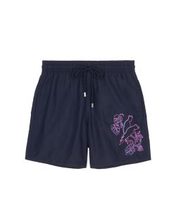 Vilebrequin   Motu Cacatoès Embroidered Swim Shorts