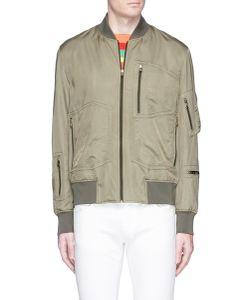 Paul Smith | Zip Pocket Sateen Bomber Jacket