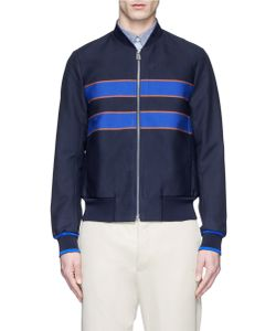 PS Paul Smith | Contrast Stripe Blouson Jacket