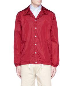 Maison Kitsuné | Logo Print Blouson Windbreaker Jacket