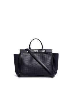 RODO | Basketweave Effect Leather Tote