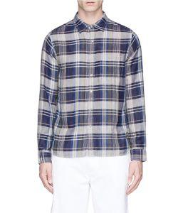 Alex Mill | Hudson Check Plaid Double Gauze Shirt