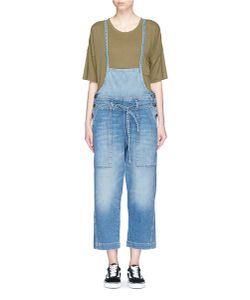 Current/Elliott | The Chore Belted Denim Dungarees