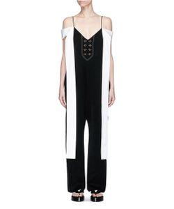 Ellery | Regina Sleeve Tie Crepe Jumpsuit
