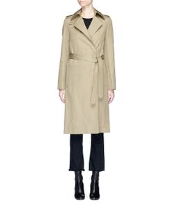 Helmut Lang | Belted Twill Trench Coat
