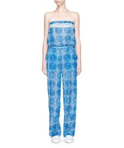 Lemlem   Makena Radial Print Strapless Jumpsuit