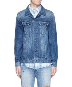Denham | Amsterdam Faded Patch Denim Jacket