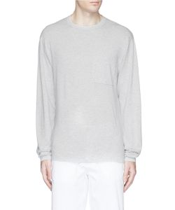 Bassike | Cotton Knit Long Sleeve T-Shirt