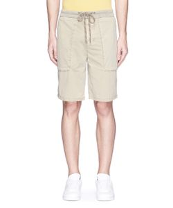 James Perse   Cotton Poplin Cargo Shorts