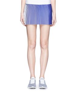 Monreal London | Joy Ombré Plissé Pleated Drawstring Skirt