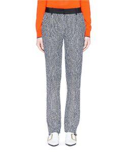 Victoria Beckham | Flecked Bouclé Tweed Slim Fit Pants
