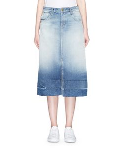 Current/Elliott | The Slit Midi Denim Skirt