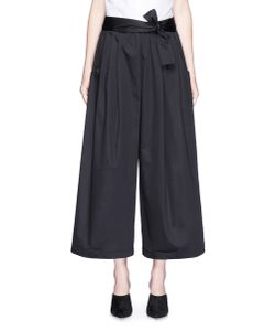 Tome | Sateen Cropped Karate Pants