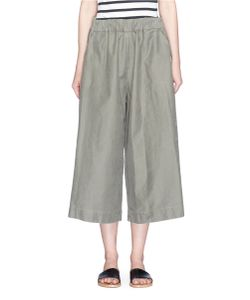 Bassike | Utility Cotton Culottes