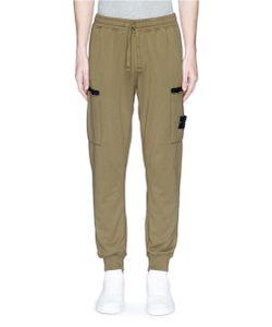 Stone Island | Garment Dye Cotton Jogging Pants