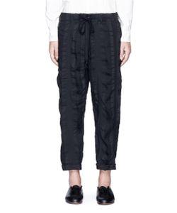 Uma Wang | Pigiama Stripe Patchwork Pants