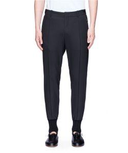 Wooyoungmi | Elastic Waist Pintucked Stirrup Pants