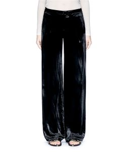 MS MIN | Velvet Wide Leg Pants