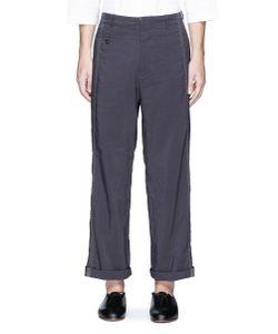 Uma Wang | Tokyo Stitch Linen-Cotton Pants