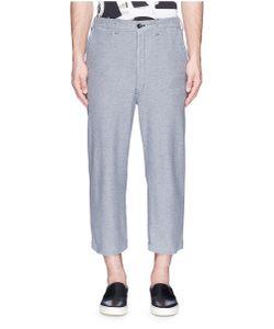 Comme Des Garçons Homme Plus | Cropped Cotton Jogging Pants
