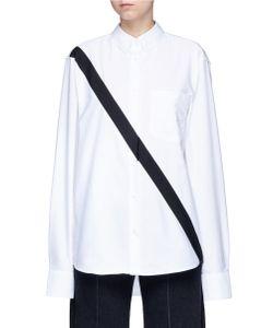 Public School | Edith Diagonal Stripe Oxford Shirt