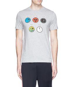 PS Paul Smith | Watches Print Organic Cotton T-Shirt
