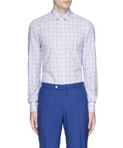 Isaia | Parma Check Plaid Poplin Shirt