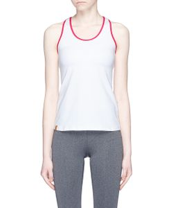 Monreal London | Essential Performance Racerback Tank Top With Built-In Bra