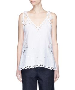 Theory | Wiola Cutwork Embroidery Camisole