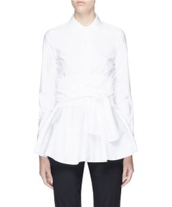 Co | Obi Belt Cotton Poplin Shirt