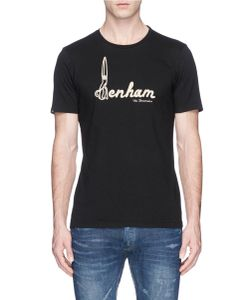 Denham | D-Scissor Embroidered T-Shirt