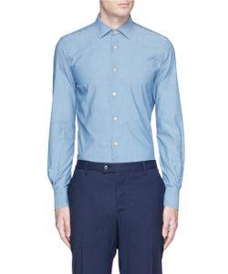 Lardini | Cotton Chambray Shirt