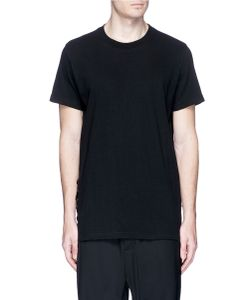 D.Gnak | Lace-Up Side T-Shirt